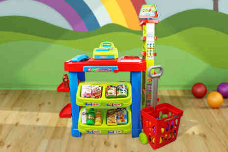 Who Needs Shops - Childrens supermarket shop grocery play set - Save 68%