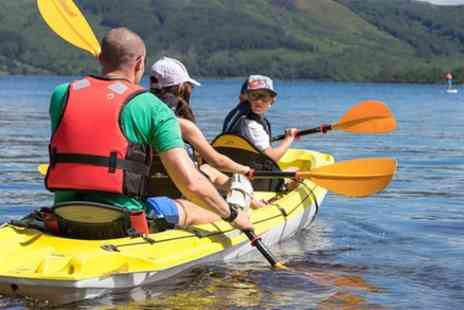 Loch Lomond Leisure - Triple kayak - Save 0%