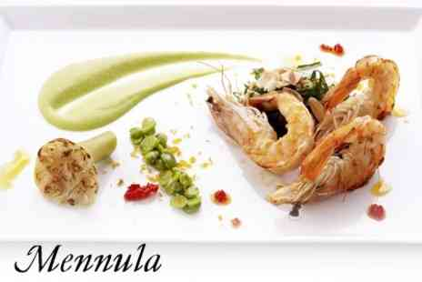 Mennula - Four Course Feasting Menu with a Glass of Prosecco for One - Save 58%