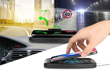 Wow What Who - 2 in 1 car charging and navigation dock - Save 75%