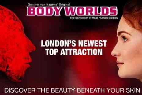 Body Worlds London Museum - One child or adult fast track ticket from 11th September To 11th October - Save 38%