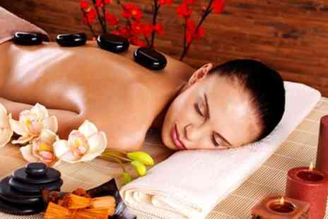 Gems Beauty Salon - One Hour Hot Stone or Full Body Massage - Save 40%