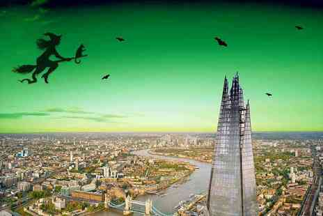 Shard Viewing Gallery Management - Exclusive Halloween Themed Entry to The View From The Shard Fun, Face Painting & Unlimited Drinks - Save 38%