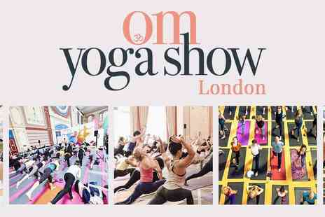 Prime Impact Events & Media - OM Yoga Show The Biggest Yoga Event in Europe Plus Kids Go Free - Save 54%