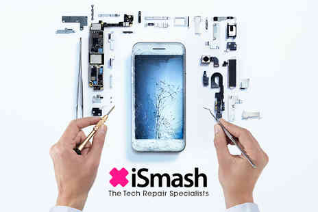 iSmash - iPhone screen replacement choose from 12 phone types - Save 57%
