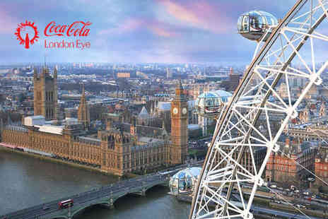 Coca Cola London Eye - Get your head in the sky with entry for one - Save 26%