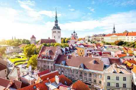 Travel Center - Four nights Riga and Tallinn holiday with return flights - Save 21%