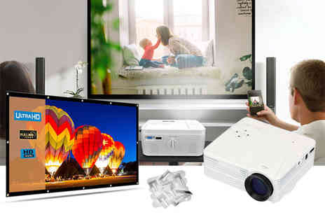 WowWhatWho - Home cinema screen only, projector or both - Save 67%