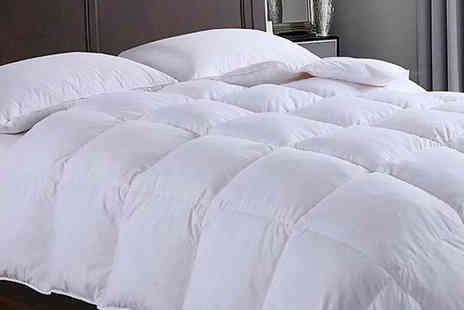 Fusion - 13.5 Tog Goose Feather and Down Duvet Choose from 4 Sizes - Save 45%