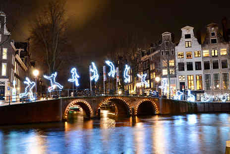 Worldwide Tours and Travel - Amsterdam Lights Festival 2 To 3 Nights Hotel Stay With Flights - Save 0%