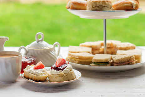 Finest Blend - Premium high tea for two with a glass of Champagne each - Save 53%