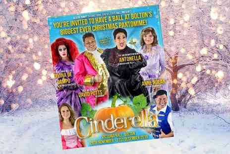 Joseph Purdy Productions - Ticket to see Cinderella - Save 50%