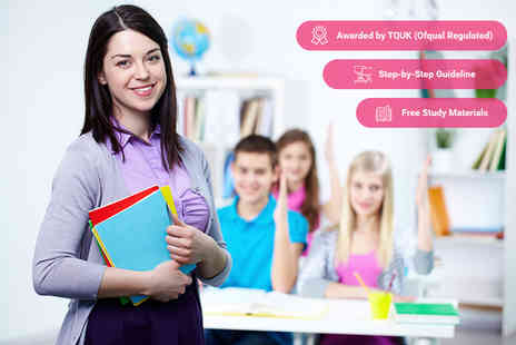 Educator London - Online level 3 course in education and training - Save 96%