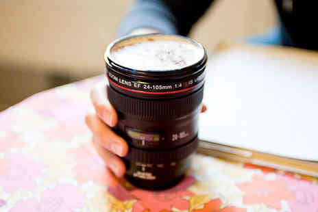 London Exchain Store - Camera lens tea coffee cup - Save 77%
