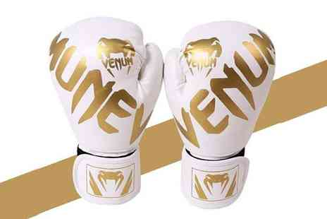 YelloGoods - Pair of kids challenger boxing gloves or Pair of adults gloves choose from five colours - Save 67%