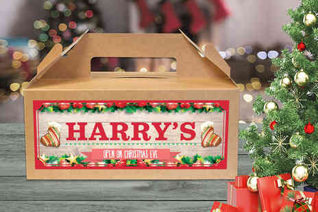 Personalised Gifts Market - Personalised Christmas Eve box choose from eight designs - Save 73%