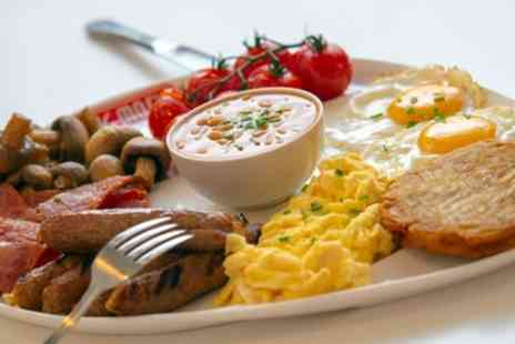 Big Moes Diner - Breakfast with Soft Drink for Two Or Four - Save 56%