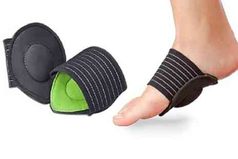 Groupon Goods Global - Foot Arch Support - Save 77%