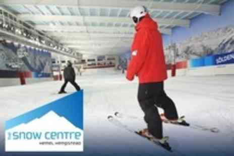 The Snow Centre - All Day Ski or Snowboard Pass For One With Equipment - Save 51%