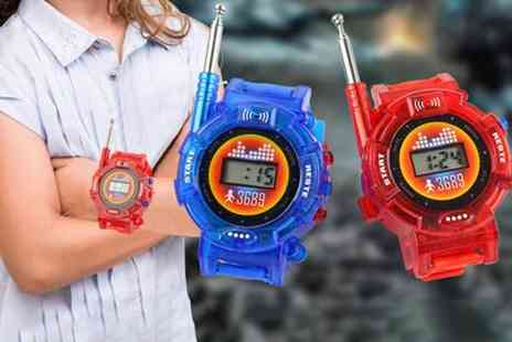 Wow What Who - Pair of childrens walkie talkie watches - Save 67%