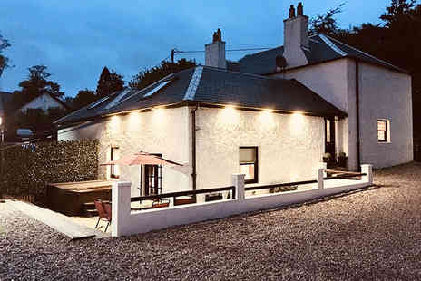 The Old Schoolhouse Loch Lomond - Four nights midweek cottage stay for up to six people - Save 54%