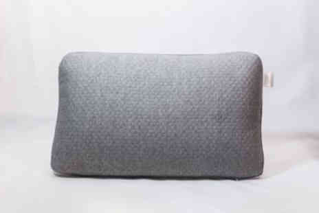Cascade Home - Supportive charcoal pillow - Save 81%