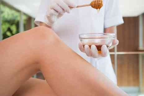 Salmas Salons - Waxing Up to Full Body with Hollywood or Brazilian - Save 60%