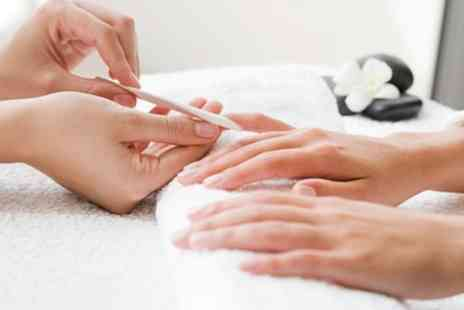 Gorgious Hair And Beauty - Gelish Manicure or Pedicure or Both - Save 25%