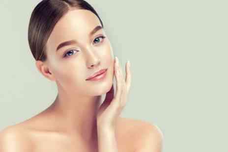 Changing Faces Cosmetics - Dermaplaning Session with Optional Peel and Led Mask - Save 62%