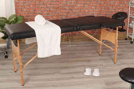 Wido - Folding wooden massage table - Save 62%