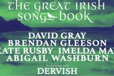London Palladium - Tickets to see Dervish The Great Irish Songbook - Save 0%
