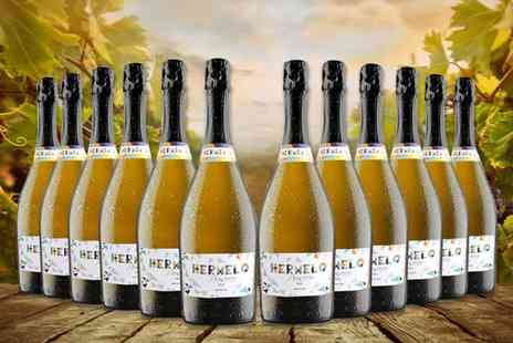 San Jamon - 12 bottle case of Hermelo Prosecco Doc Extra Dry - Save 52%