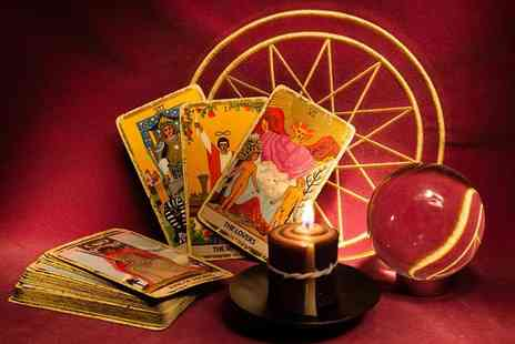 Ambriel Holistics - 30 minute phone reading and two 3 card email tarot readings - Save 82%