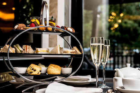 The Baglioni Hotel - Afternoon tea for two people with a glass of Prosecco each - Save 50%