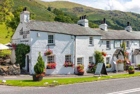The Travellers Rest Inn - Overnight Lake District stay with breakfast and wine on arrival - Save 48%