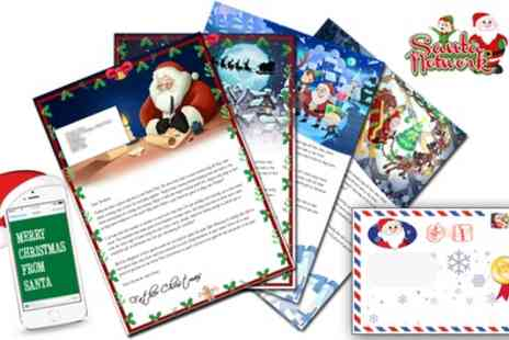 Santa Letter Direct - Personalised Santa Letter with Free Delivery and Opt In Activity Pack - Save 50%