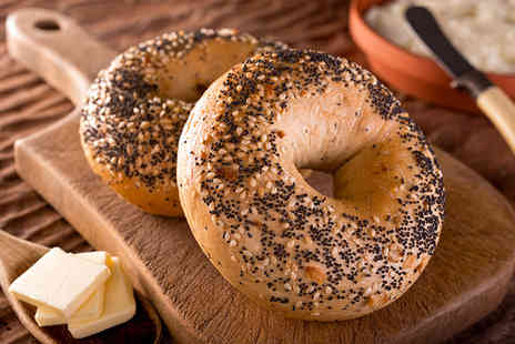 Argyles Coffee and Wine - 90 minutes of bottomless bagels and Prosecco for two - Save 50%