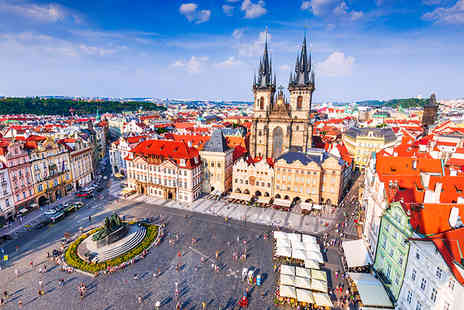 Super Escapes Travel - Two nights Prague city break with breakfast and return flights - Save 24%