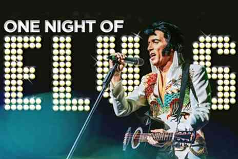 ATG Tickets - Ticket to One Night Of Elvis on Thursday 10th October at 7.30pm - Save 49%