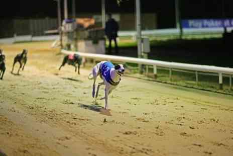 Coral Brighton and Hove Greyhound Stadium - Greyhound Racing with Food, Drink and Re Admission for Two - Save 69%