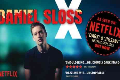 Daniel Sloss - One best available ticket on 4th October - Save 32%