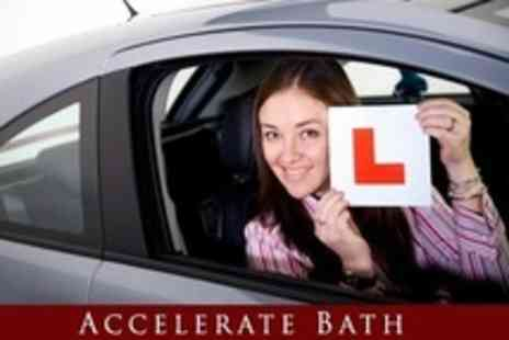 Accelerate Bath - Four Hours of Driving Lessons - Save 77%