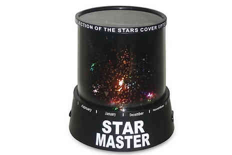 Home Season - Star Light Projector Choose from 2 Colours - Save 54%