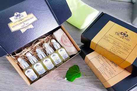 McAniis - Five piece natural beard and moustache oil gift set - Save 41%