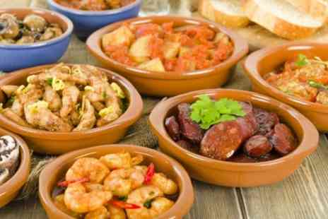 Loka Baristas - Choice of 6 or 12 Tapas to Share with Drink for Two or Four - Save 60%