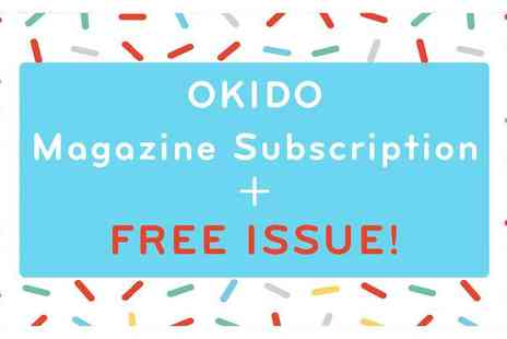 Okido - Magazine Subscription Plus Free Issue Art, Science and More for Curious Minds - Save 29%