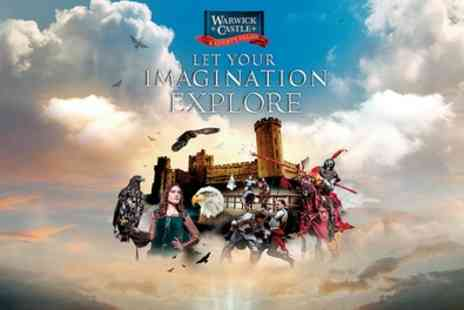 Warwick Castle - Full one day entry - Save 29%