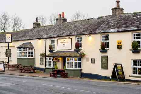 The Cross Keys Inn - Overnight Lake District getaway for two people with two course dinner, glass of wine and breakfast - Save 48%