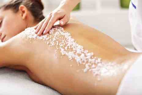 Pristine Beauty - Your choice of one hour Decleor full body massage, One hour Decleor full body aromatherapy massage and 35 minute Decleor scrub - Save 71%