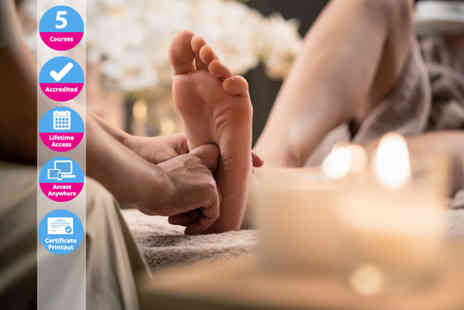 BE A Education - Online reflexology course - Save 84%